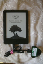 Amazon Kindle - 8th Generation (SY69JL) -E-Reader 4GB + Power lead -Hardly Used