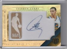 2011-12 PANINI GOLD STANDARD #47 STEPHEN CURRY AUTOGRAPH WARRIORS 189/199 2118