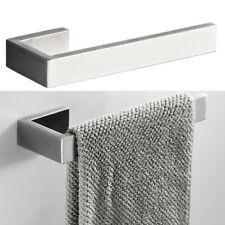 Metal Baño Lavabo Toalla de Mano Perchero Soporte Acero Inoxidable para Pared