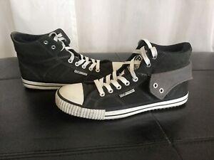 BK British Knights Sneaker Herren Schuhe Gr. 45 UK 11 Schwarz Velourleder