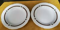 GRAF VON HENNEBERG BAVARIA GERMANY SET OF 2 DINNER PLATES 9''