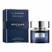 2020 Rochas L'HOMME ROCHAS eau de toilette men's 40 ml 1.3 oz new in box sealed