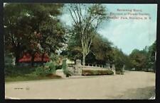 Entrance to Flower Garden Prospect Park Brooklyn Ny 1911 Leighton& Valentine Co
