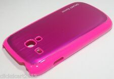 Hard Back Cover Case With Screen Protector For Samsung Galaxy S3 Mini i8190