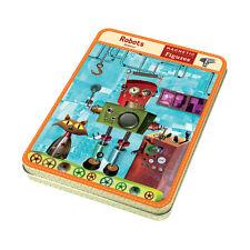 Mudpuppy Magnetic Design Play Set -- Robots