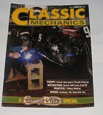 CLASSIC MECHANICS SPRING 1984  ISSUE NO.3 - SUNBEAM S8/NORTON 500/ARIEL VB