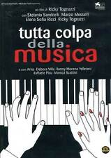 Dvd TUTTA COLPA DELLA MUSICA   ......NUOVO