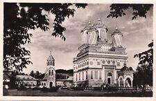 Postcard Rppc Romania Episcopal Church of Curtea de Arges