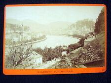 OLD ALBUMEN/CABINET CARD: SALZBURG VON MUELLN~PHOTO: WÜRTHLE & SPINNHIRN