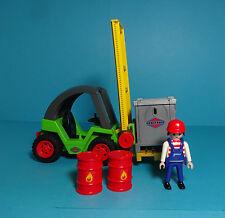 Playmobil Construction / Baustelle ~ Gabelstapler / Forklift (3003)