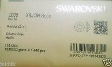 100 Swarovski Flat Back Hotfix Rhinestone 2038 Ss16 (4mm) Peridot JCE11