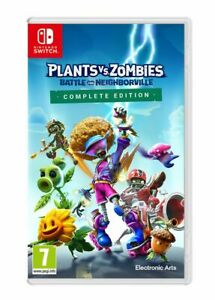 Plants vs Zombies: Battle for Neighborville (Switch) Brand New & Sealed UK PAL