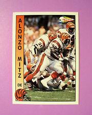 1992 PACIFIC FOOTBALL TRADING CARD #367 - CINCINNATI BENGALS  ALONZO MITZ - MINT