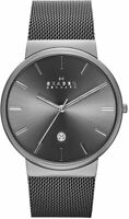 Skagen Men's Ancher Stainless Steel and Mesh Quartz Watch SKW6108