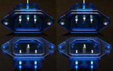 NEXUS MUSIC Rhodium IEC Socket 15A 250V AC Inlet 4PCS