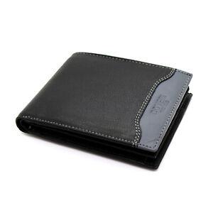 Portafoglio in pelle uomo ENRICO COVERI con portamonete porta carte e ribaltina