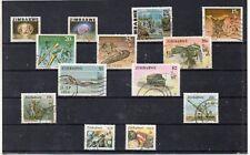 Zimbabue Valores del año 1980-2000 (DK-551)