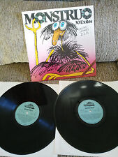 "MONSTRUO TOTAL 30 EXITOS DOBLE 2 X LP VINILO VINYL 12"" 1983 VG/VG SPANISH ED"