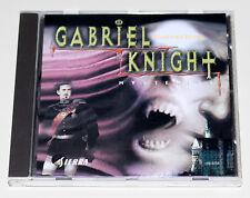 Gabriel Knight-secretos-Collector 's Edition-PC juego-versión en alemán