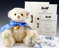 Steiff 664113 TEDDY BEAR 2013 PRINCE George Alexander Louis ROYAL BABY FAMILY