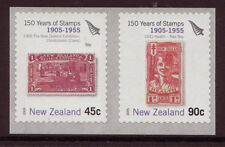 NEW ZEALAND 2005 150 YEARS NEW ZEALAND STAMPS COIL PAIR , UNMOUNTED MINT, MNH