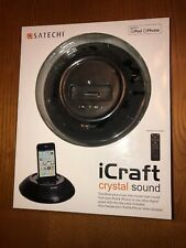 Satechi iCraft Dock Station Round Speaker System for Older iPod iPhone Models
