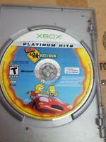 The Simpsons Hit & Run (Microsoft Xbox 2003) Hit And Run no manual, great!!
