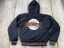 Vintage 90s Kids Coat MBA San Francisco Giants Starter Jacket Size Boys Medium