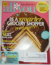 All You Magazine Be a Smarter Grocery Shopper February 2014 010915R