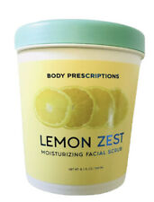 Body Prescriptions LEMON ZEST Moisturizing Facial Scrub, 8.1 Oz.