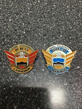 Star Wars: Rogue One Rebel Squadron Leaders Red & Gold 2 Pins Disney Pins