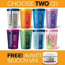 Kanechom Hair Conditioning Masks, Choose TWO (2) + 1 FREE Avanti Silicon Mix