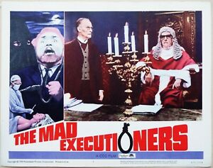The Mad Executioners 1965 Edgar Wallace Original US Lobby Card