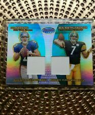 BEN ROETHLISBERGER/ELI MANNING 04 BOWMAN'S BEST DOUBLE COVERAGE PATCH#8/25! RARE