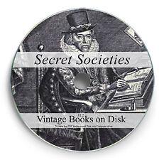 Secret Societies Book on DVD Illuminati Freemasons Knights Templar of Pythias 12