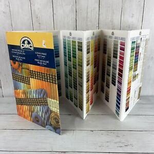 DMC Creative World Embroidery Floss Color Card Sampler Chart Book W100TC