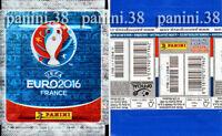 "RARE !! Pochette FRENCH Edition ""UEFA EURO 2016"" bustina, packet, tüte PANINI"