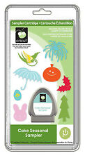 NEW!!  Cricut Cake Seasonal Sampler cartridge!!  Use with all cricut machines!!