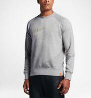 Nike Men's Basketball Crew Sweatshirt 'Grey Heather' (XXL) 846034 010
