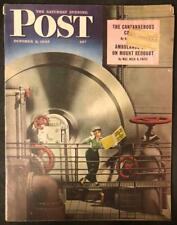 Saturday Evening Post Oct 2 1943 Russell Patterson Cover, H. Allen Smith