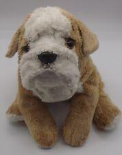 "10"" Bulldog or Shar Pei puppy dog plush"