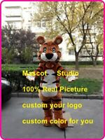 Tiger Mascot Costume Cosplay Party Game Dress Unisex Advertising Halloween Adult