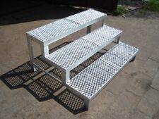Garden Outdoor Reinforced Galvanised  Stairs- 90cm Wide