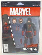 DAREDEVIL #1 - Action Figure Variant - CHARLES SOULE Ron Garney - NEW MARVEL