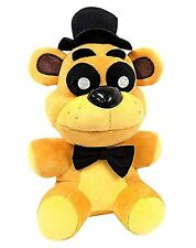 2018   Golden Freddy Exclusive Five Nights at Freddys  Plush 7 Toy NNNNN