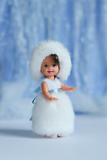Fur dress and hat for Kelly doll