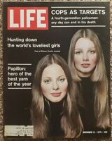 Life Magazine: November 13, 1970 Cops as Targets, Loveliest Girls, Papillon