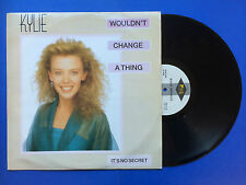 Kylie Minogue - Wouldn't Change A Thing, PWL Records PWLT-42 Ex- Condition 12""