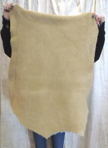 BRAINTAN BISON BUFFALO Leather Hide for Native Crafts Moccasins Buckskins Bags