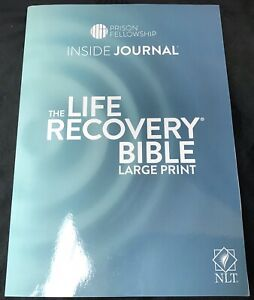The Life Recovery Bible-Prison Fellowship-Inside Journal-Large Print-Free Ship!